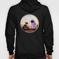 Wall-E & Eve - Painting Style Hoody