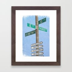 Springstreets Framed Art Print