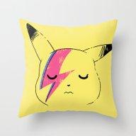 Pika Stardust Throw Pillow