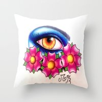 Avatar In Japan Throw Pillow