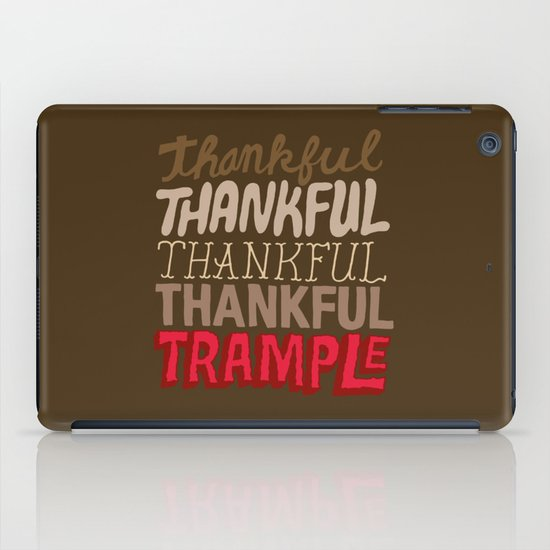 Thanksgiving, Black Friday iPad Case
