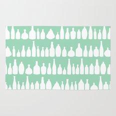 Bottles Mint Rug