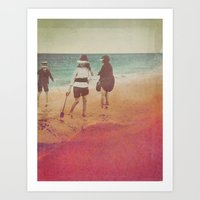 Like Grains of Sand Art Print