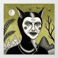 Twilight Green Canvas Print