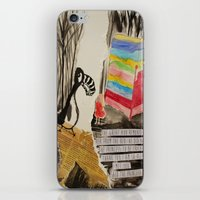 The Princess Meets The G… iPhone & iPod Skin