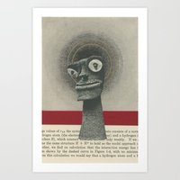 We Canonized Our Demons Art Print