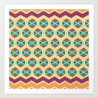 Wayuu Color Option Art Print
