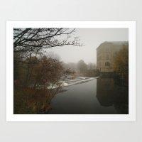 New Mill Art Print