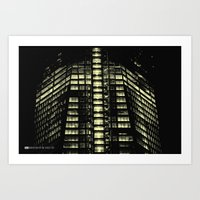 Manhattan Skyline Series 007 Art Print