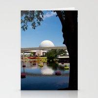 Disney's Epcot Stationery Cards