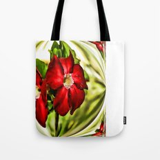 Exotic Flower Unrap Tote Bag