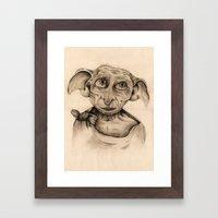 Free Elf Full Length Framed Art Print
