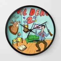♥ EVIL DEAD 2 ♥ Wall Clock