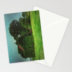 house with ghosts  Stationery Cards