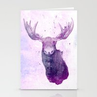 Moose Springsteen Stationery Cards