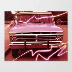 Pickup Canvas Print