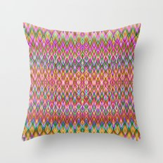Missoni Style Throw Pillow