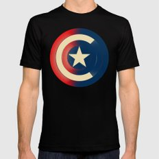 Captain Black SMALL Mens Fitted Tee