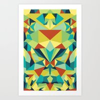 Colorful All Art Print