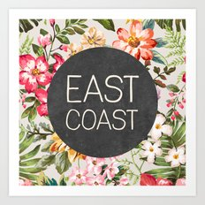 East Coast Art Print