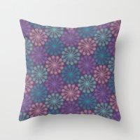 PAISLEYSCOPE peacock Throw Pillow