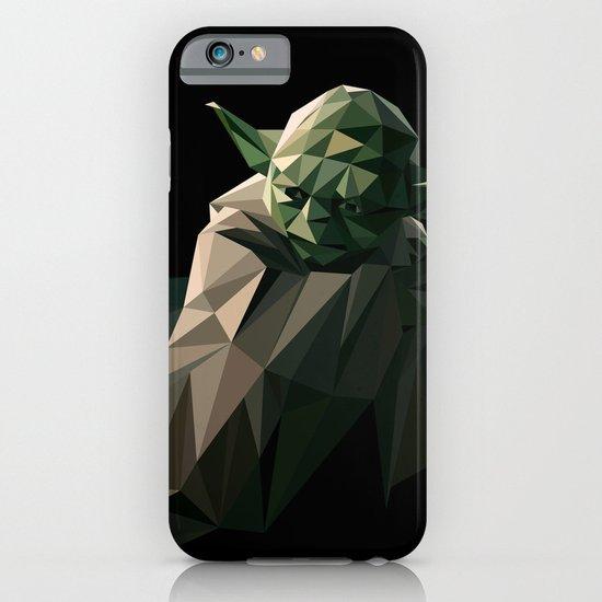 Geometric Yoda iPhone & iPod Case