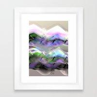 Ocean-Race  no31 Framed Art Print