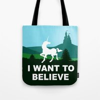 I WANT TO BELIEVE - Unic… Tote Bag