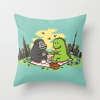 Let's have a break Throw Pillow