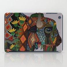 bison heather iPad Case