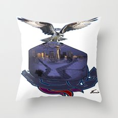 THAT HAWK! Throw Pillow