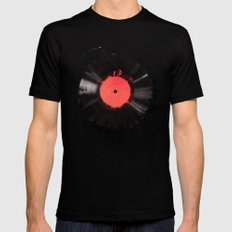 The vinyl of my life SMALL Mens Fitted Tee Black