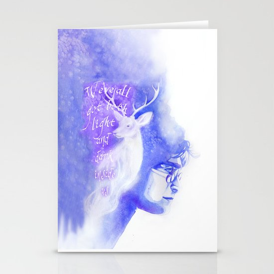 The Boy Who Lived Stationery Card