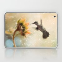 Like a Moth To a Flame Laptop & iPad Skin