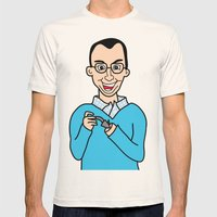 Buster Bluth Mens Fitted Tee Natural SMALL