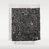 - the doubt - Shower Curtain