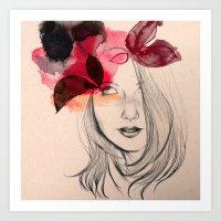 Chloé Art Print