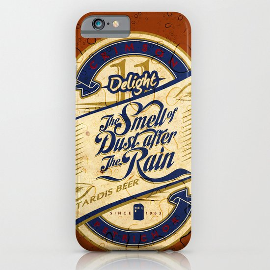 TARDIS Beer iPhone & iPod Case