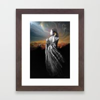 Merging With The Univers… Framed Art Print