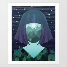 Inner World No. 2 Art Print