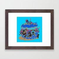 Combo#6 Framed Art Print