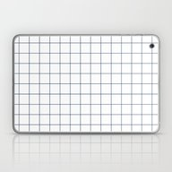 Chek - Check Grid Simple… Laptop & iPad Skin