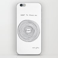 What To Focus On iPhone & iPod Skin