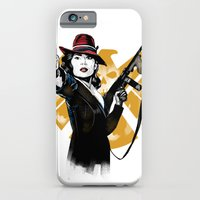iPhone & iPod Case featuring Agent Peggy Carter by PawixZkid