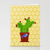 My Dear Cactus Stationery Cards