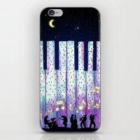 Harmony In The Night iPhone & iPod Skin
