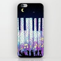 Harmony In The Night iPhone & iPod Skin
