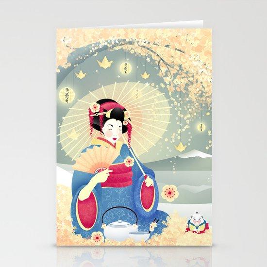 Turning Japanese Stationery Card