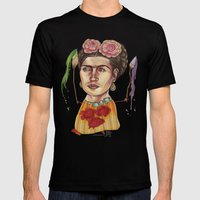 FRIDA Mens Fitted Tee Black SMALL