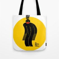 The Burning Flow Monster Tote Bag